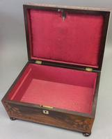 Early 19th Century Rosewood Work Box (2 of 5)
