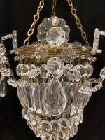 One Light Small Bag Chandelier (3 of 5)