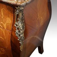 Continental Marquetry Bombe Commode Chest (3 of 14)