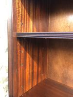 Tall English Mahogany Open Library Bookcase (7 of 10)