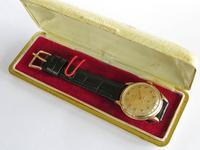 Gents 9ct Gold Cyma Wrist Watch, 1954 (3 of 6)