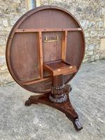 Exceptional Quality Regency Flame Mahogany Centre Table (6 of 10)