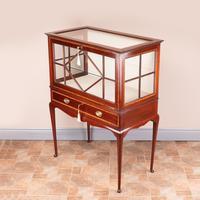 Inlaid Mahogany Display Cabinet (2 of 12)