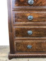 Large Late Victorian Mahogany Chest of Drawers (9 of 11)