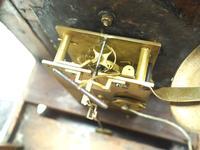 Unusual Rare 18th Century Austrian Verge Table Mantel Clock Pull Alarm (14 of 14)