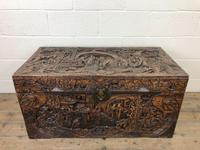 Antique Chinese Camphor Wood Trunk (5 of 14)