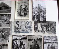 Large Collection of Ainu Hokkaido Japanese Postcards c.1900 (5 of 6)