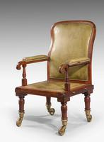 19th Century Mahogany Framed Carrying Chair (2 of 10)