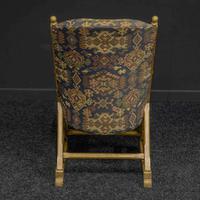 Arts & Crafts Oak Armchair (4 of 7)