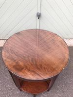Edwardian Mahogany Round Nest of 5 Tables (3 of 9)