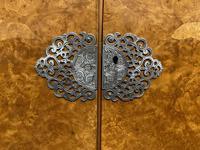 Burr Walnut 2 Door Wardrobe (7 of 9)