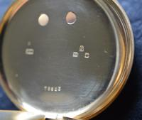 Victorian 18k Gold Gents Chronograph Pocket Watch (3 of 5)
