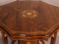 Fine Quality Rosewood Occasional Table c.1890 (5 of 6)