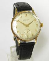 Gents 9ct Gold Nivada Wrist Watch, 1962 (2 of 5)