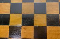 19th Century Inlaid Burr Walnut, Games Table (4 of 9)