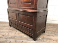 Large Antique 18th Century Welsh Oak Press Cupboard (M-808) (12 of 18)