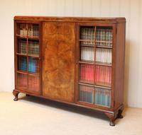 Burr Walnut Bookcase by Heals (10 of 11)