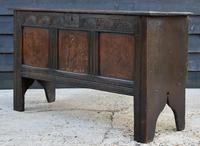 Handsome Early 18th Century Oak Coffer / Blanket Box / Chest c.1700
