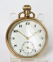 Vintage 1920s Bernex stem winding pocket watch (2 of 5)