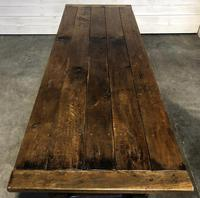 Very Early Oak Farmhouse Refectory Dining Table (2 of 31)