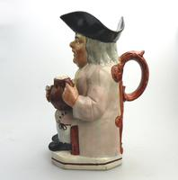 Good Staffordshire Pearlware Toby Jug Early 19th Century (6 of 12)