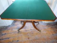 English Regency Card Table (7 of 9)