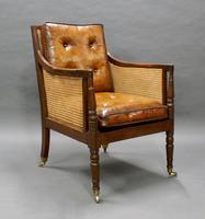 Georgian Mahogany Bergere Chair (2 of 7)