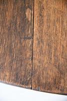 Oak Oval Drop Leaf Dining Table (7 of 12)