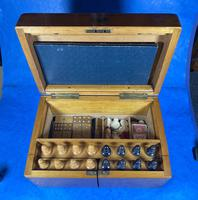 Victorian Pine Partially Fitted Games Box (2 of 32)
