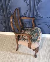 Quality Burr Walnut Child's Chair (7 of 13)