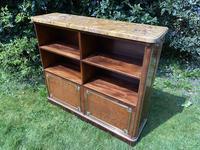 French Plum Pudding Mahogany Bookcase (8 of 8)