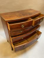 George III Bow Chest of Drawers (10 of 14)