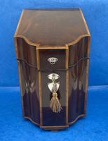 George III Mahogany Cutlery Box (11 of 12)