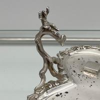 Antique Victorian Sterling Silver Condiment Set on Stand London 1879 George Fox (9 of 11)