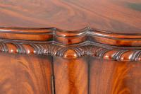Stunning Mahogany Shaped Cabinet (7 of 8)