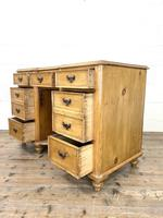 Victorian Antique Pine Sideboard with Drawers (9 of 11)