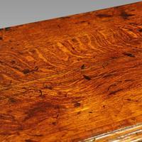 George III Oak Cabriole Leg Dresser (10 of 12)