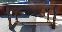 1960's Heavy Oak Refectory Table (6 of 6)
