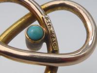 Murlle Bennett 9ct Gold & Turquoise Hat Pin (3 of 6)