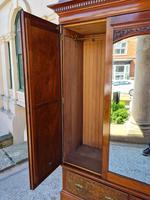 Antique Walnut Wardrobe with Burr Walnut Panels (3 of 11)