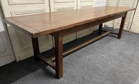 Long French Oak Farmhouse Dining Table (6 of 17)