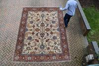 Old Tabriz Roomsize Carpet 355x278cm (10 of 13)