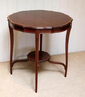Inlaid Mahogany Circular Table (6 of 12)