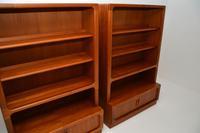 Pair of Danish Vintage Teak Bookcases by Dyrlund (7 of 12)