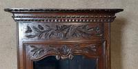 Antique French Carved Oak Bookcase (7 of 16)