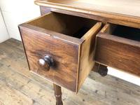 Antique Victorian Mahogany Ladies Writing Desk (13 of 17)