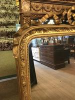 Original Victorian Gilt Mirror (7 of 13)