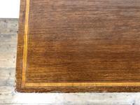 Antique Edwardian Inlaid Mahogany Side Table (8 of 11)