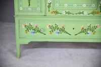 Vintage Painted Pine Wardrobe (11 of 12)