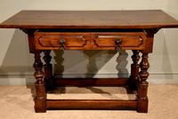Early 18th Century Spanish Walnut Serving Side Table (3 of 7)